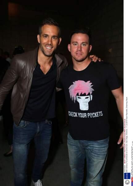 Ryan Reynolds veut-il rejoindre la bande de stip-teaseurs de Channing Tatum ?