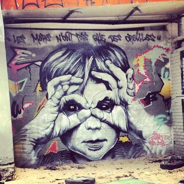 """""""Les murs n'ont pas que des oreilles""""..."""