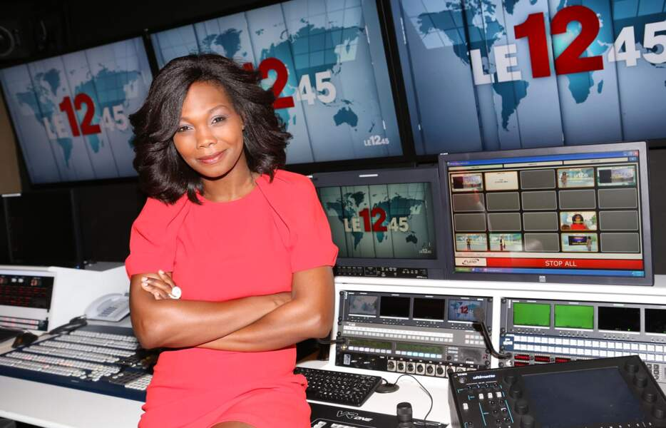 Kareen Guiock, nouvelle présentatrice du 12.45 sur M6