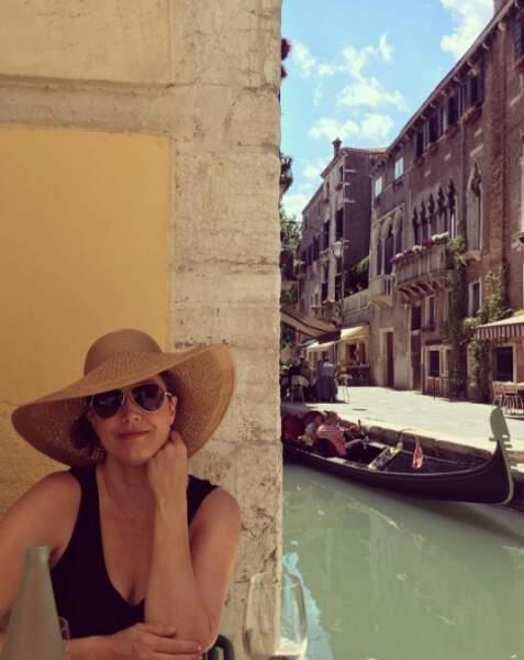 Et Bellamy Young (Scandal) joue les belles à Venise