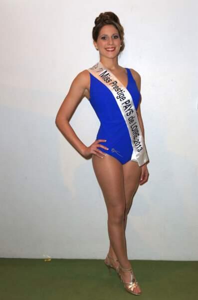 Ludovica Barreau, Miss Prestige Pays de Loire 2013
