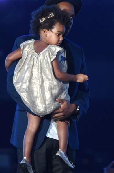 Blue Ivy Carter, fille de Jay-Z, née le 7 janvier 2011
