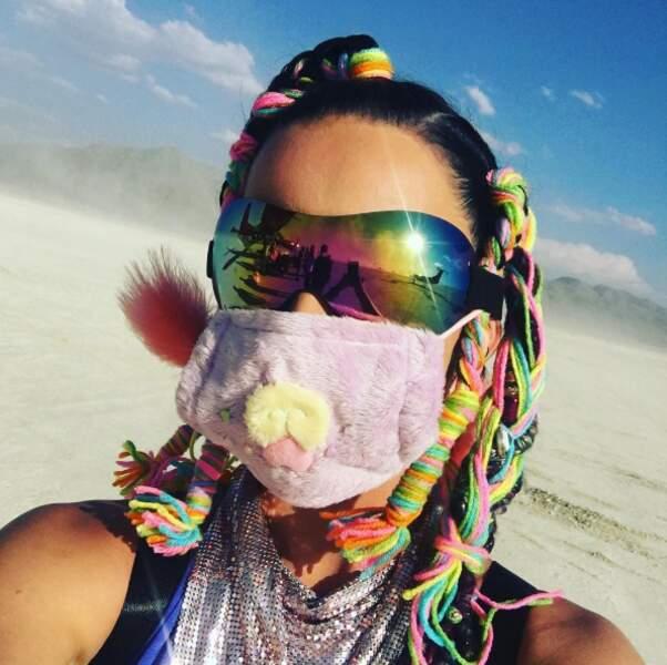 Katy Perry a voulu y passer un séjour incognito...