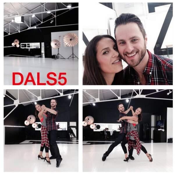 Si on ne connaît pas son niveau en danse, Elisa Tovati maîtrise les photomontages !