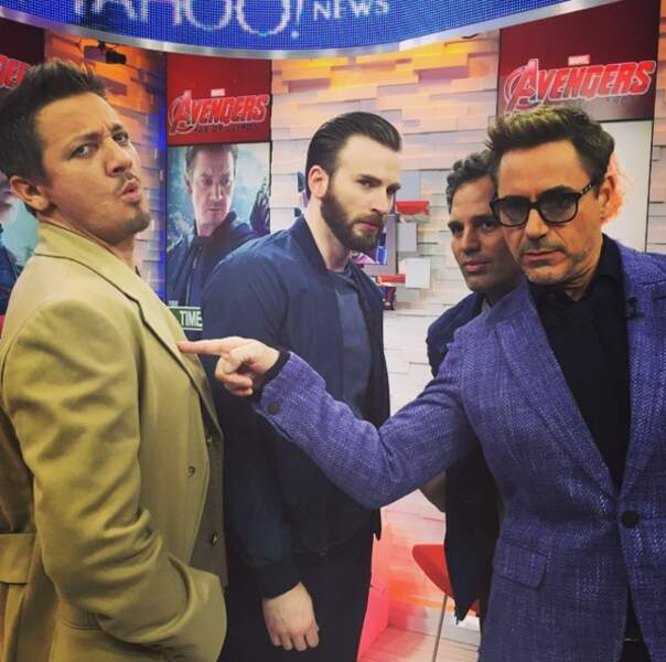 Les Avengers presque au complet