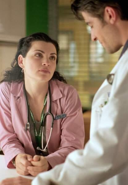 L'infirmière Carol Hathaway incarnée par Julianna Margulies