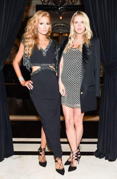It-girls et businesswomen : Paris Hilton et Nicky Hilton.