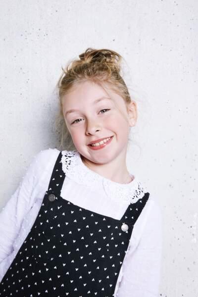 Et enfin, impossible d'oublier l'adorable Gloria, 8 ans.