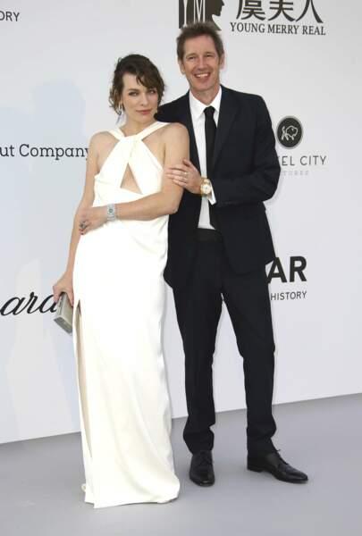 Mila Jovovich et Paul Anderson