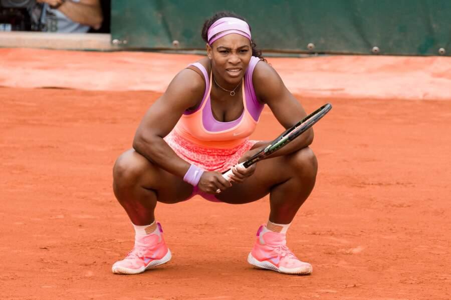 A quoi peut bien penser Serena Williams ?
