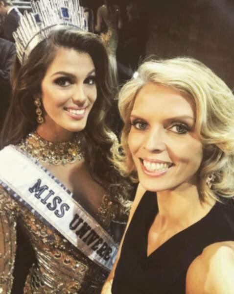 Et un grand bravo à Iris Mittenaere, sacrée Miss Univers ce week-end ! Sylvie Tellier est FIÈRE.
