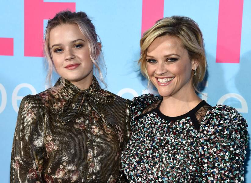 L'actrice Reese Witherspoon et sa fille Ava Phillippe, née le 9 septembre 1999