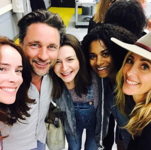 La fine équipe de Grey's Anatomy n'a de cesse de s'agrandir