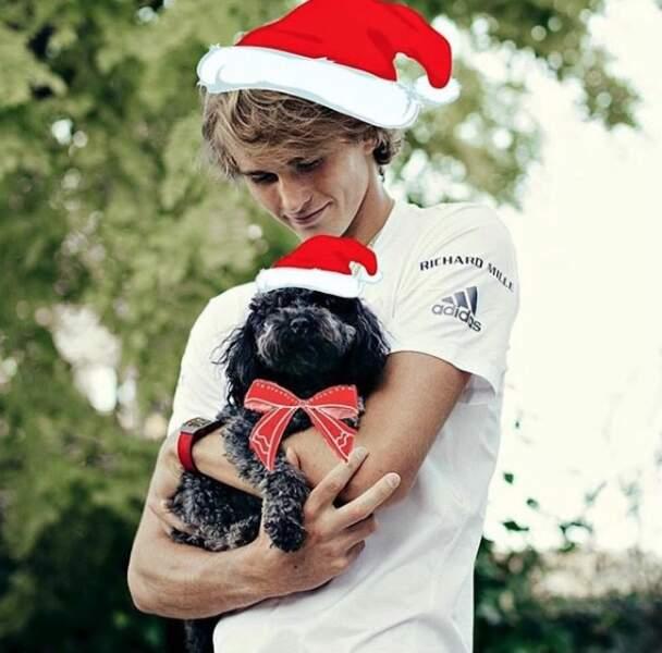 Aveuglé par son amour pourson petit Lövik, le tennisman Alexander Zverev en ferait-il trop ?