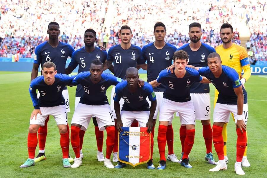 L'équipe de France est prête à affronter l'Argentine pour les 1/8e de finale.