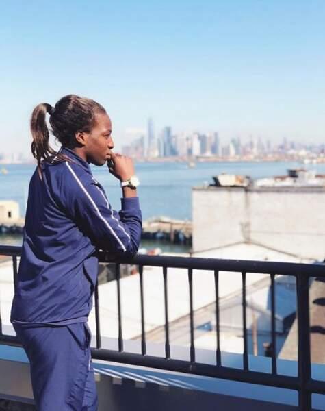 Viviane Asseyi a bien profité de son séjour aux Etats-Unis