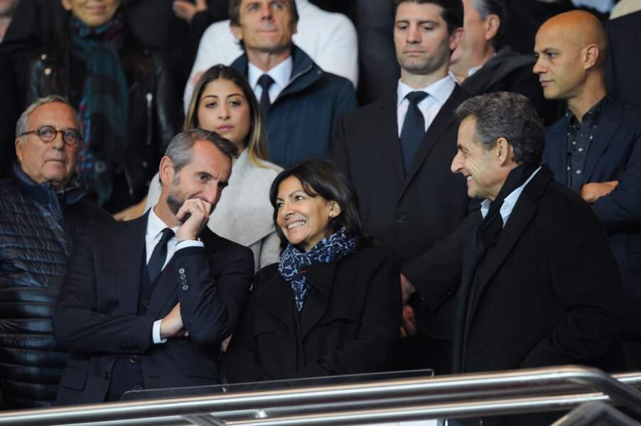 Jean-Claude Blanc (PSG) doit donner son pronostic à la maire de Paris, Anne Hidalgo