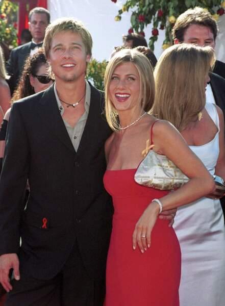 Vive les mariés ! Entre 2000 et 2005, Jennifer Aniston et Brad Pitt sont considérés comme LE couple hollywoodien.