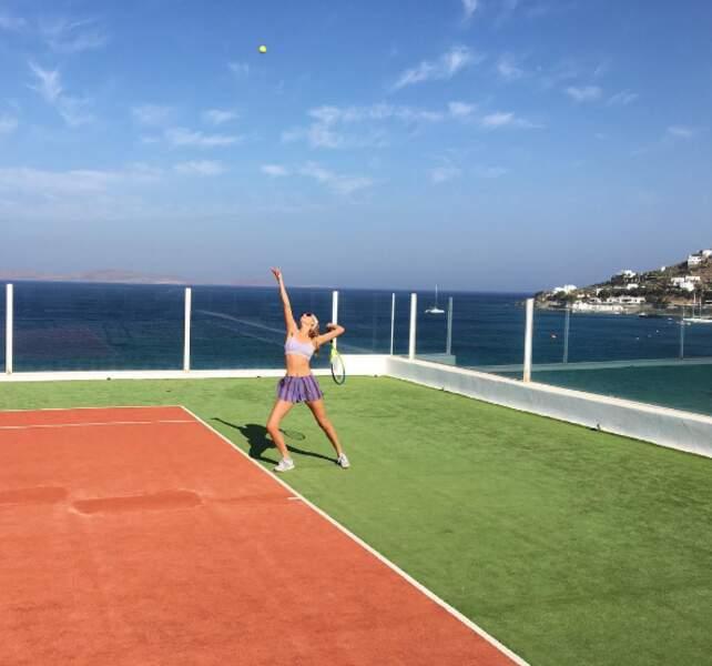 Et même du tennis.