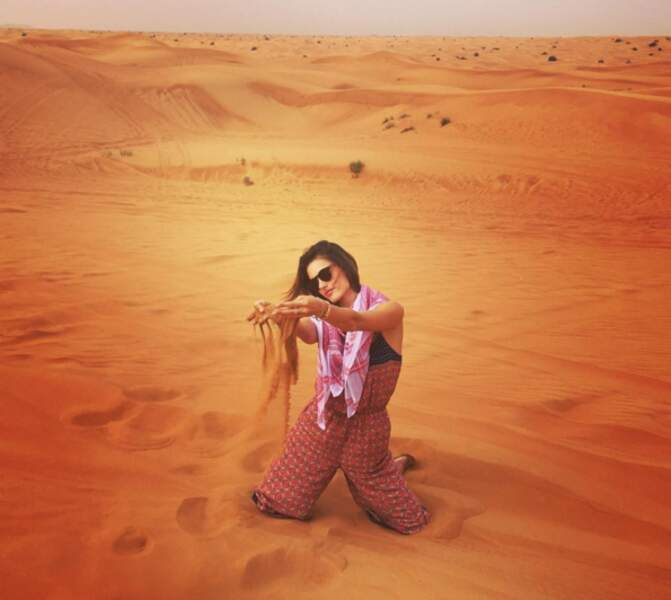 Quelques jours à Dubai et c'est le drame : Alessandra Ambrosio se prend pour Beyoncé dans le clip de Baby Boy.