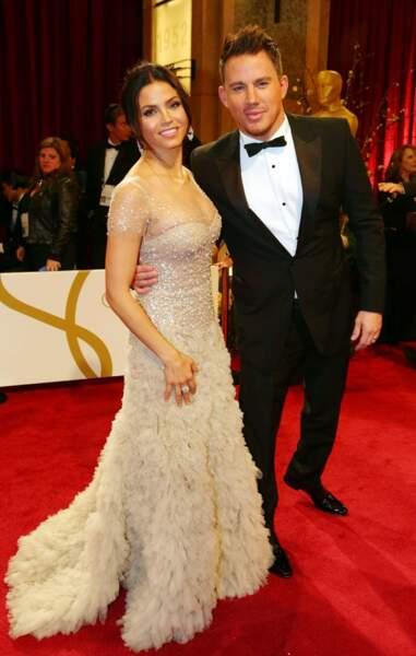 Jenna Dewan-Tatum et Channing Tatum, toujours aussi amoureux sur le tapis rouge
