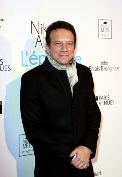 L'acteur Samuel Le Bihan
