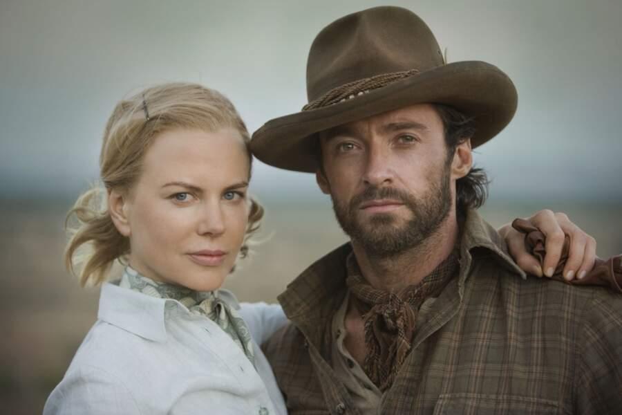 Dans Australia (2008), Nicole donne la réplique à Hugh Jackman
