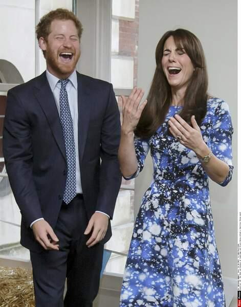 La plus drôle dans son entourage reste sa chère belle-sœur Kate