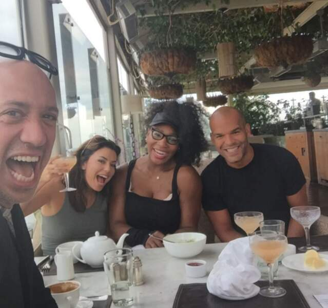 Un brunch avec la reine du tennis Serena Williams... la classe !