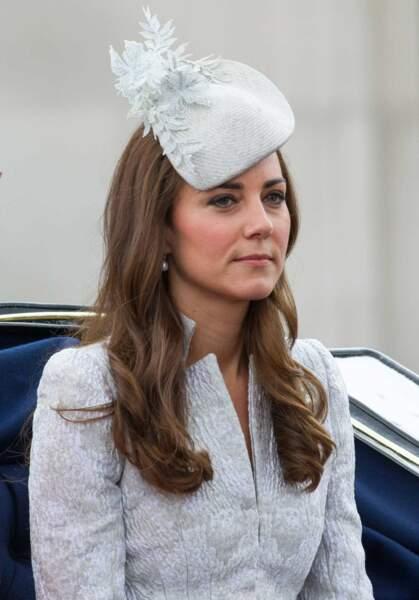 Kate, elle, avait misé sur la sobriété...