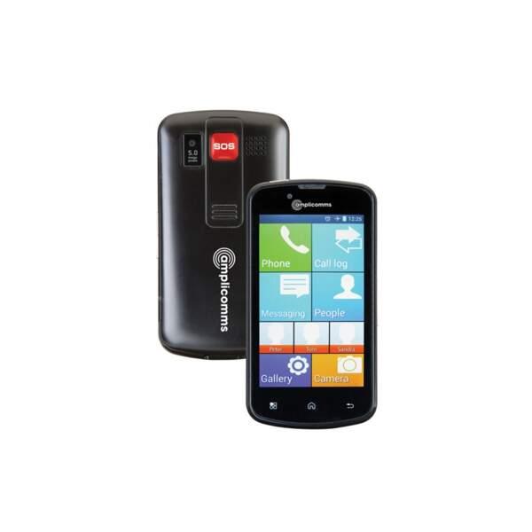 Pensez au téléphone portable simple et pratique pour les seniors