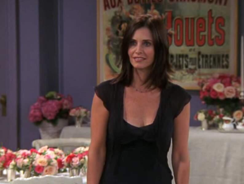 Dans la saison 10, Monica mariée à Chandler n'aura jamais été aussi belle.