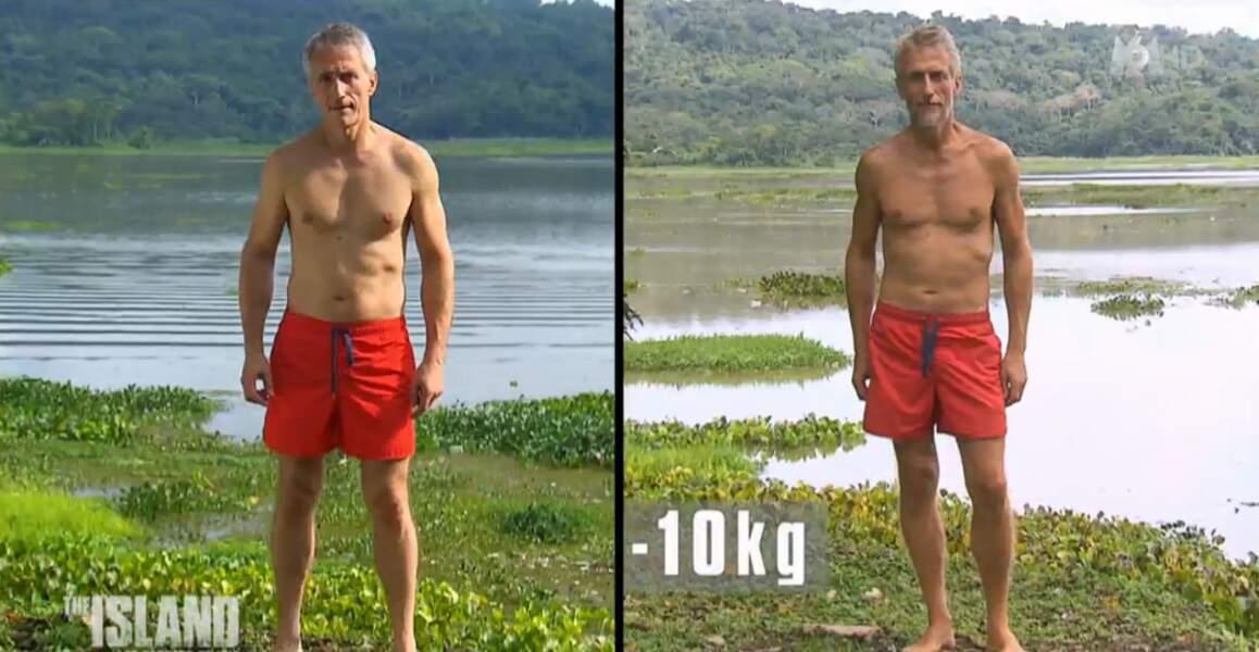 Alain a perdu 10 kilos
