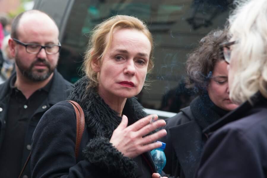Sandrine Bonnaire, une proche de l'artiste