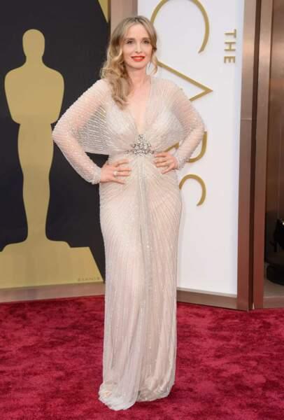 Julie Delpy élégante aux Oscars 2014