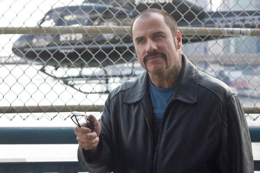 John Travolta hésitait à l'époque de L'attaque du métro : moustache ou bouc ? Faut se décider à un moment