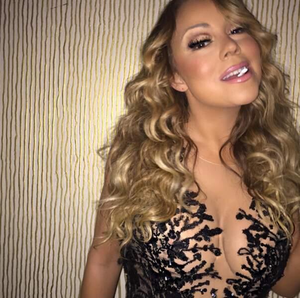 Mariah Carey aime les chewing-gums.