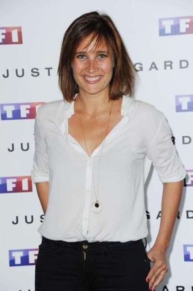 Julie de Bona, autre star de TF1 (L'Inconnu du lac, Entre deux mères...), était présente pour l'occasion