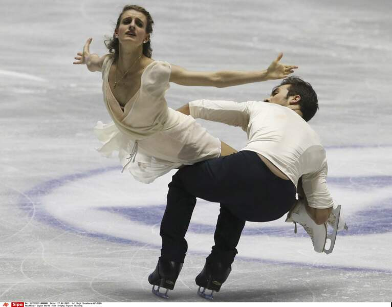 En 2015, Gabriella Papadakis, 19 ans, devient la plus jeune championne du monde de danse sur glace