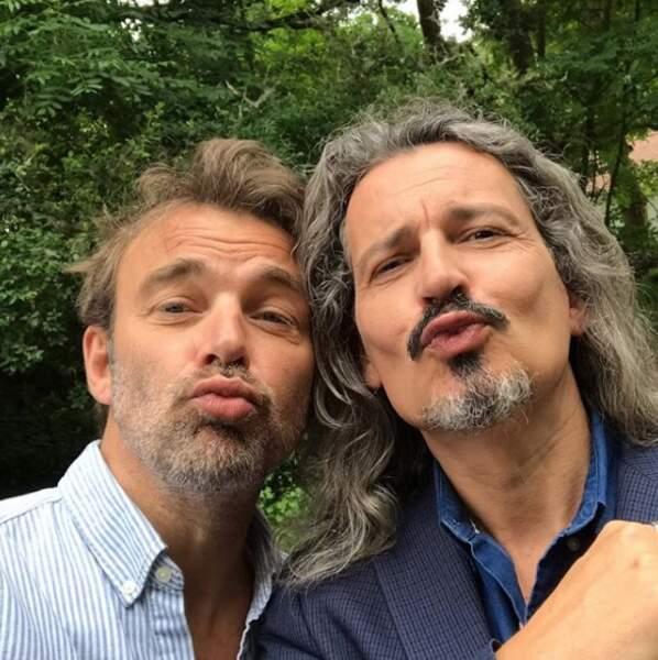 Entre Patrick Puydebat et Philippe Vasseur des Mystères de l'amour, notre coeur balance...