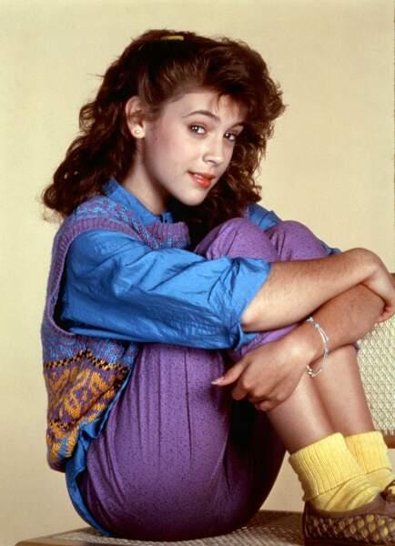 Alyssa Milano était Samantha Micelli dans la série.