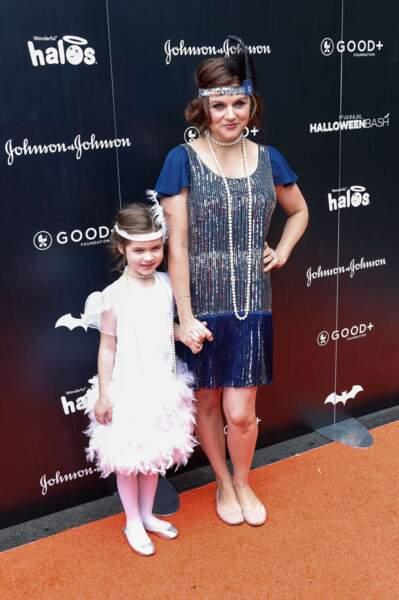 Tiffani Thiessen et sa fille Harper étaient joliment assorties.