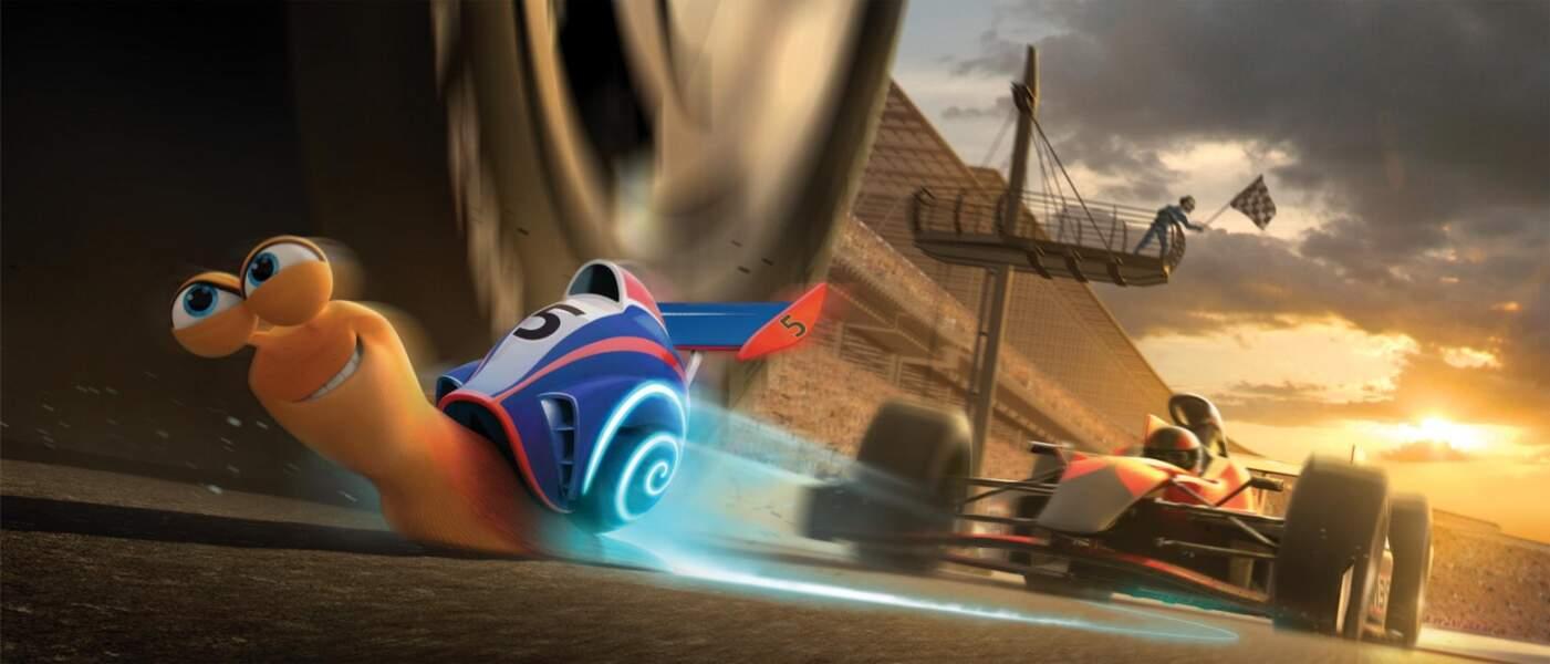 Film d'animation de la 20th Century Fox, Turbo déboule sur nos écrans le 16 octobre