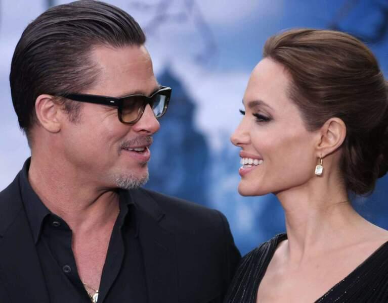 Mais l'acteur tombe amoureux d'Angelina Jolie en 2005, pour former l'un des couples les plus mythiques