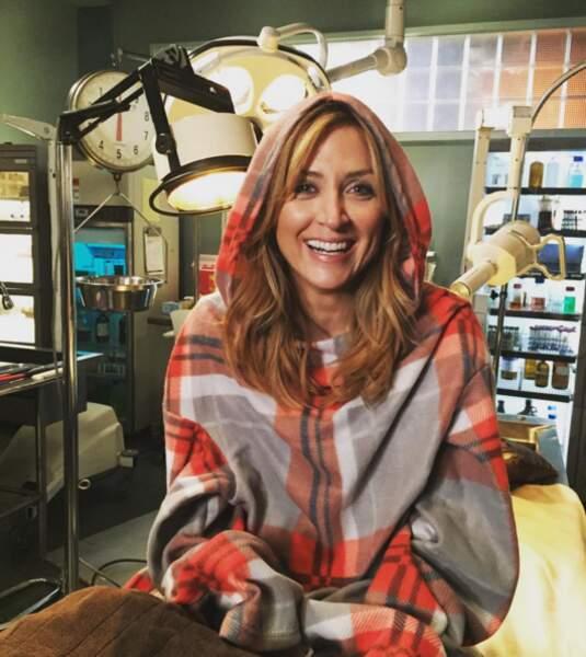 Sasha Alexander toujours très heureuse de retrouver la salle d'autopsie !