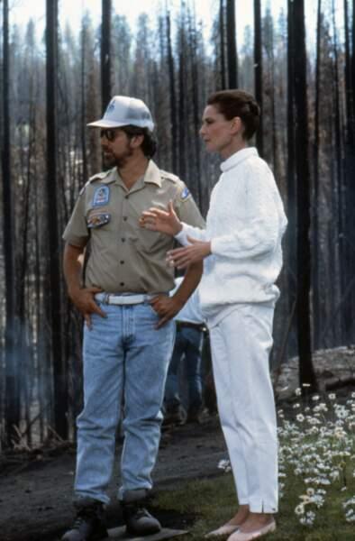 """Dernier rôle au cinéma dans le film de Steven Spielberg """"Always"""" en 1989"""