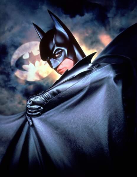 Val Kilmer reprend le rôle dans Batman Forever (1995)