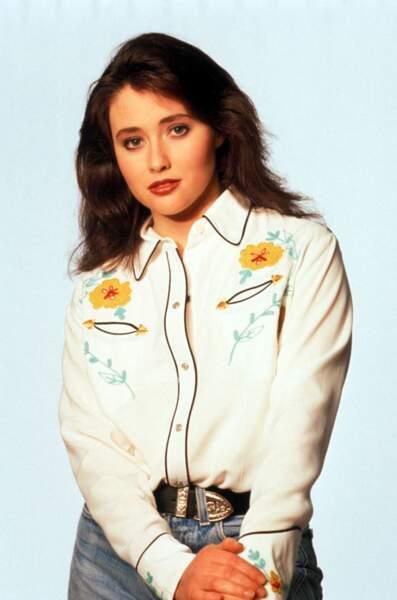 Il y avait Shannen Doherty, alias Brenda Walsh !