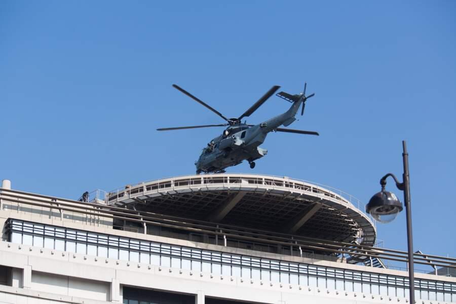 Il a tourné sur le toit de Bercy