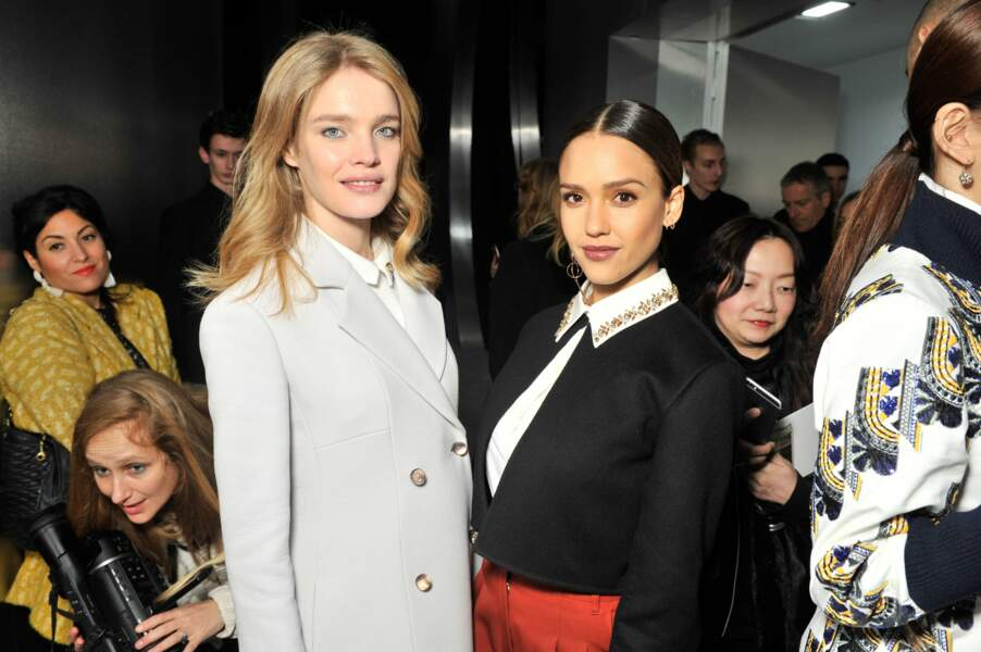 Natalia Vodianova et Jessica Alba